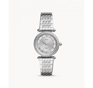 Lyric Three-Hand Stainless-Steel Watch