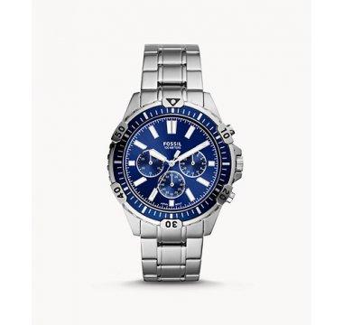 Garrett Chronograph Silver-Tone Stainless-Steel Watch