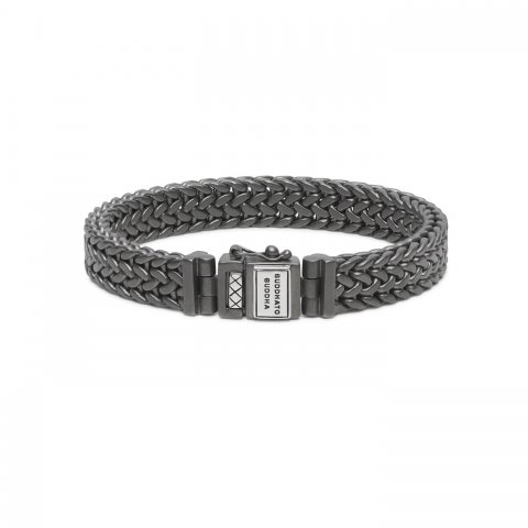 BLACK RHODIUM JULIUS ARMBAND 192GMS