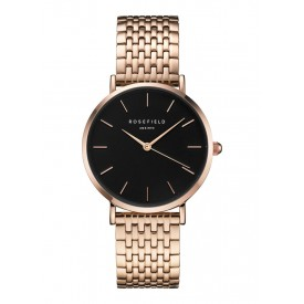 The Upper East Side Black - Rose Gold