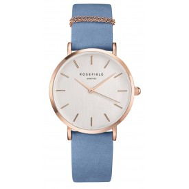 The West Village Airy Blue – Rose Gold