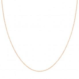 Blush Ketting - Rosé Goud - 42 (14Krt.)