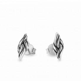 Katja Earstuds Silver oorbellen