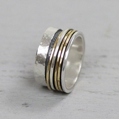 Ring goldfilled Merel