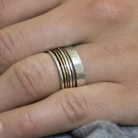 Ring goldfilled Merel