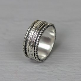 Ring zilver speels