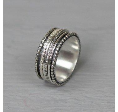 Ring zilver speels