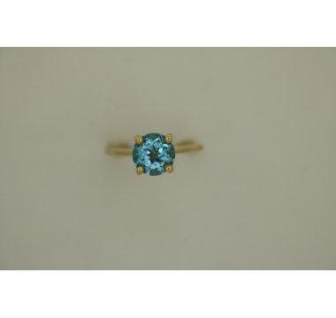 JeroenID Ring Topaas London blue
