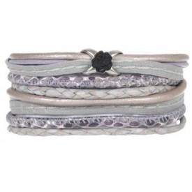 Pimps & Pearls 280 Moesss Floral 0317 Frozen Lavender
