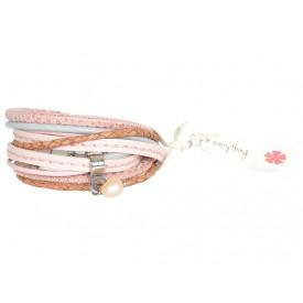 Pimps & Pearls 280 Moesss Floral 77 New Pink